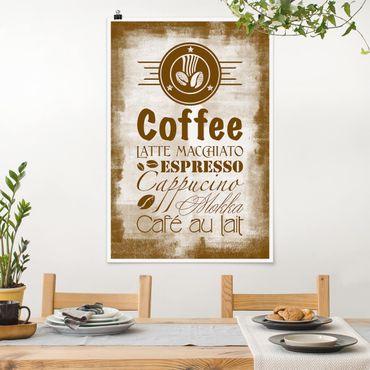 Poster - Caffè No.SF597 4 - Verticale 3:2
