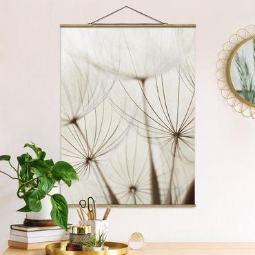 Foto su tessuto da parete con bastone - Gentle Erbe - Verticale 4:3