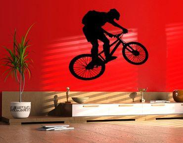 Adesivo murale no.374 bike