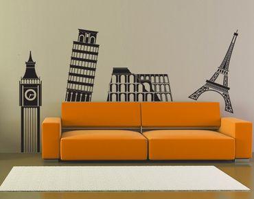 Adesivo murale no.375 Big Ben & Co.
