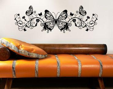 Adesivo murale no.383 butterfly ornament