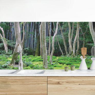 Rivestimento cucina - Foresta Giapponese