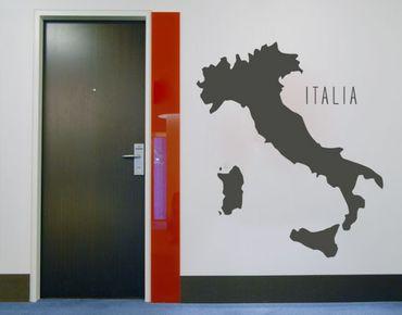 Adesivo murale no.KP120 italian