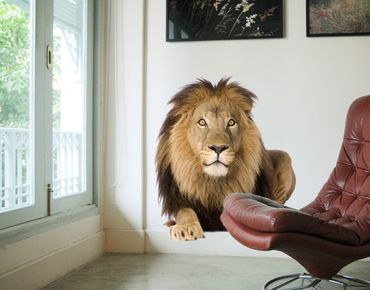 Adesivo murale no.153 Lion I