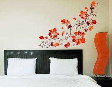 Adesivo murale no.79 Tender Flower