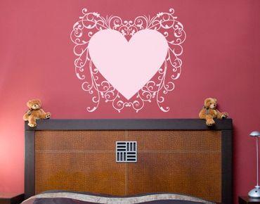 Adesivo murale no.SF602 romantic heart 2