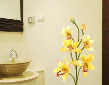 Adesivo murale no.173 Orchid Yellow