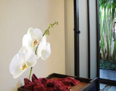 Adesivo murale no.178 Orchid White I