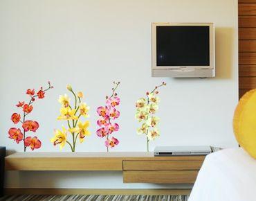 Adesivo murale no.182 Orchid Set I
