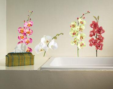 Adesivo murale no.183 Orchid Set II