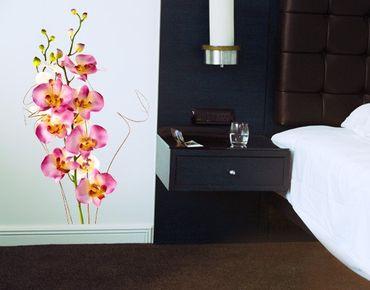 Adesivo murale no.184 Orchid Bouquet