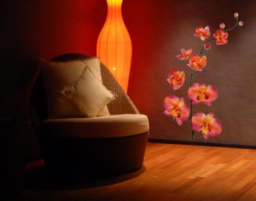 Adesivo murale no.185 Orchid Orange