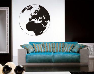 Adesivo murale no.419 Earth