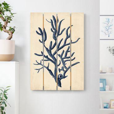 Stampa su legno - Indigo Coral II - Verticale 3:2