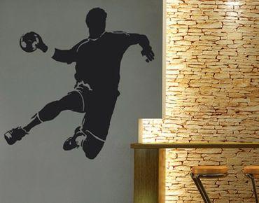 Adesivo murale no.UL333 handball player 1