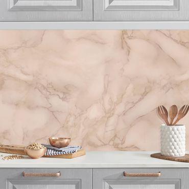 Rivestimento cucina - Effetto marmo grigio marrone