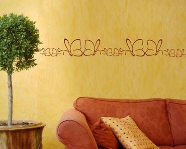 Adesivo murale bordura no.1000 Butterfly