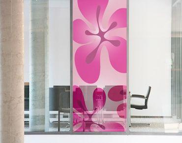Decorazione per finestre no.UL355 HawaiiFeeling Pink