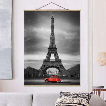 Foto su tessuto da parete con bastone - Spot On Paris - Verticale 4:3