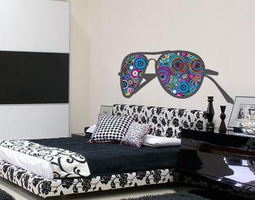 Adesivo murale no.KP216 Sunglasses