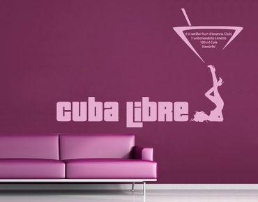 Adesivo murale no.716 Cuba Libre