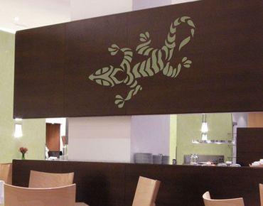 Adesivo murale no.723 crazy Gecko