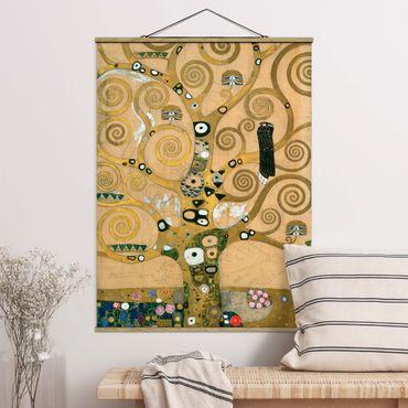 Foto su tessuto da parete con bastone - Gustav Klimt - Tree Of Life - Verticale 4:3