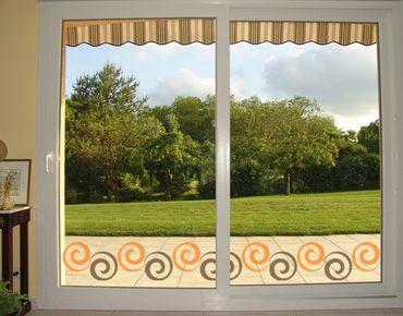 Adesivi da finestra Border no. 216 Curl