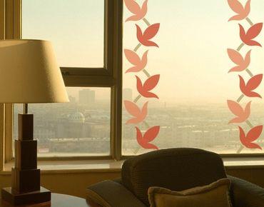 Adesivi da finestra Border no.223 vine leaves