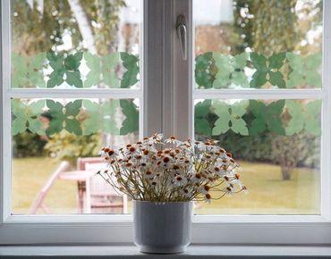 Adesivi da finestra Border no.225 Leaves III