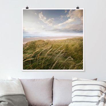 Poster - dune di sogno - Quadrato 1:1