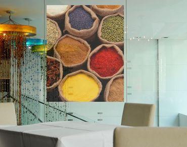 Decorazione per finestre Colourful Spices