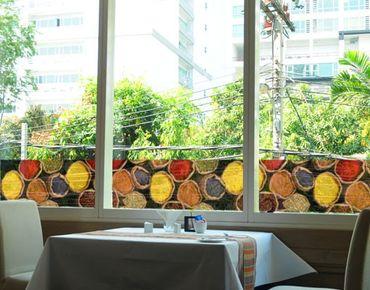 Decorazione per finestre Border Colourful Spices