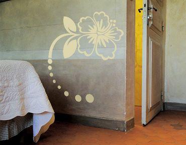 Adesivo murale No.CG49 Hibiscus Blossom