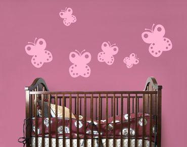 Adesivo murale No.UL425 Baby Butterfly Set