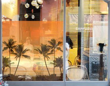 Decorazione per finestre Caribbean Sunset II