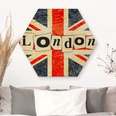 Esagono in legno - sì London