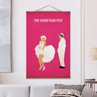 Foto su tessuto da parete con bastone - Poster del film La moglie è in vacanza - Verticale 3:2
