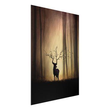 Quadro in forex - Il Signore della Foresta - Verticale 3:4