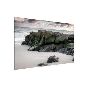 Lavagna magnetica - Rocce sulla spiaggia - Formato orizzontale 3:2