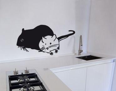 Adesivo murale No.UL462 Two Mouses