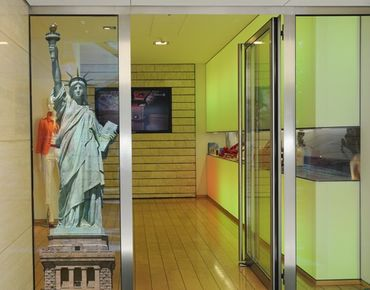Adesivi da finestra no.TM152 Statue Of Liberty
