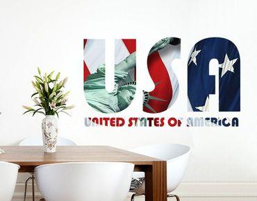 Adesivo murale no.TM153 USA