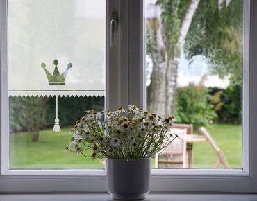 Pellicole per vetri - no.UL465 Royal Curtain