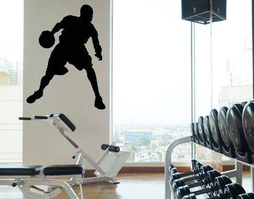 Adesivo murale No.777 Basketball Star
