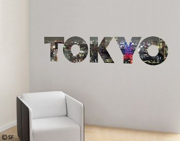 Adesivo murale no.SF783 Tokyo