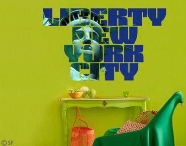 Adesivo murale no.SF789 Liberty NY