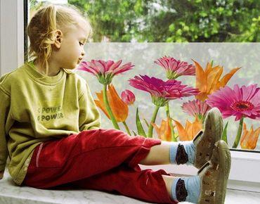 Decorazione per finestre Flower Melody