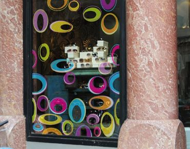 Adesivi da finestra no.170 Happy Eggs