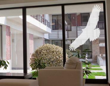 Adesivo per finestre - no.UL524 bird of prey